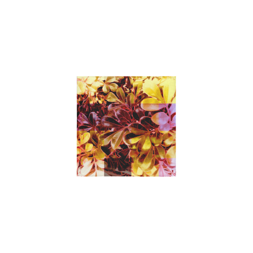 """Foliage Patchwork #11 - Jera Nour Square Towel 13""""x13"""""""