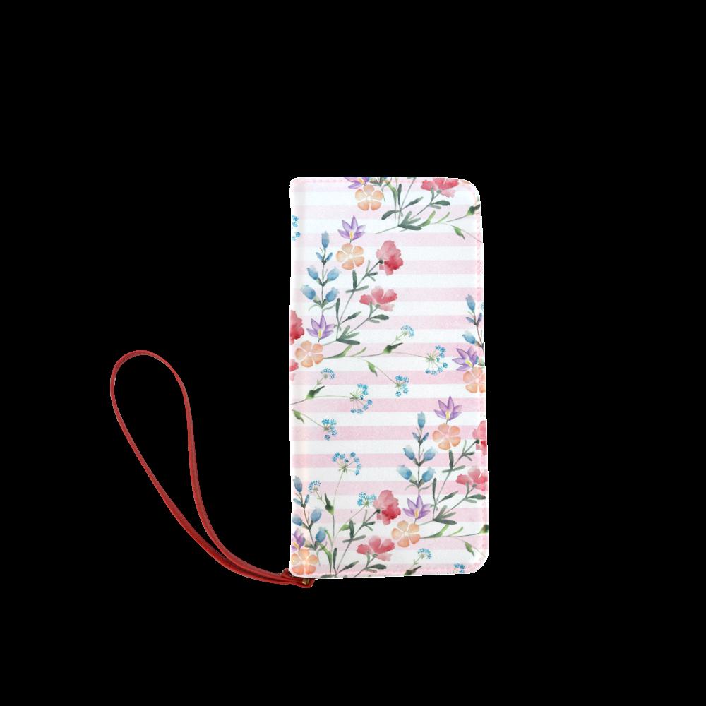 Delicate Wildflowers Women's Clutch Wallet (Model 1637)