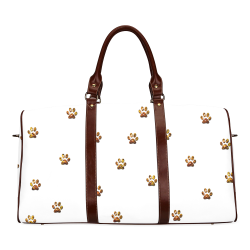 Tiger Paw Waterproof Travel Bag/Small (Model 1639)