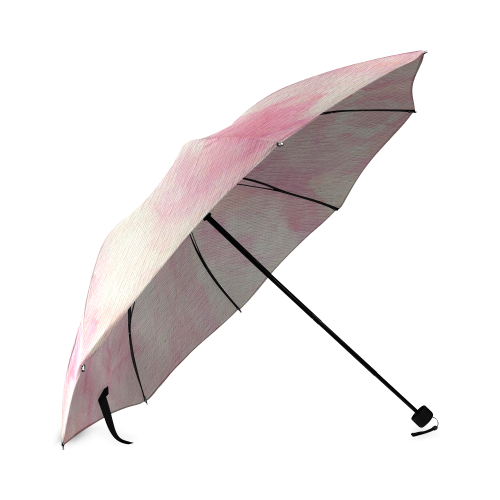 Rougissant Fleur Chanson Foldable Umbrella (Model U01)