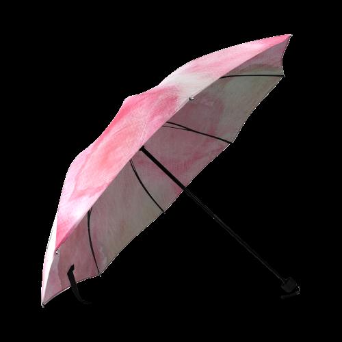 Mélodie Rose Foldable Umbrella (Model U01)