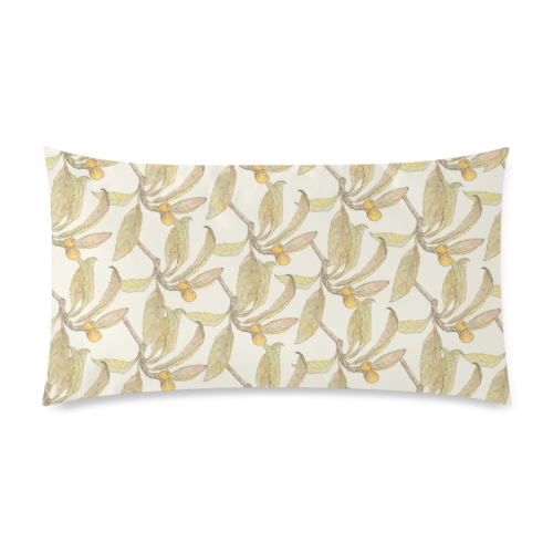 """Natural Style Custom Rectangle Pillow Case 20""""x36"""" (one side)"""