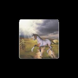The Little cute Foal Square Coaster