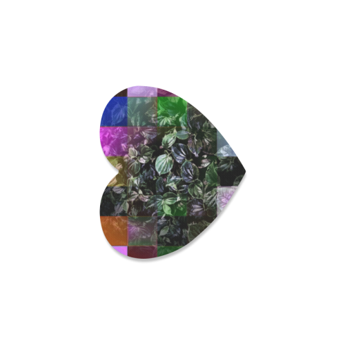 Foliage Patchwork #13 - Jera Nour Heart Coaster
