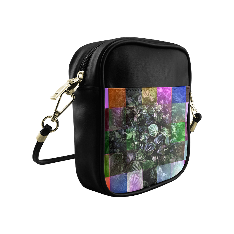 Foliage Patchwork #13 - Jera Nour Sling Bag (Model 1627)