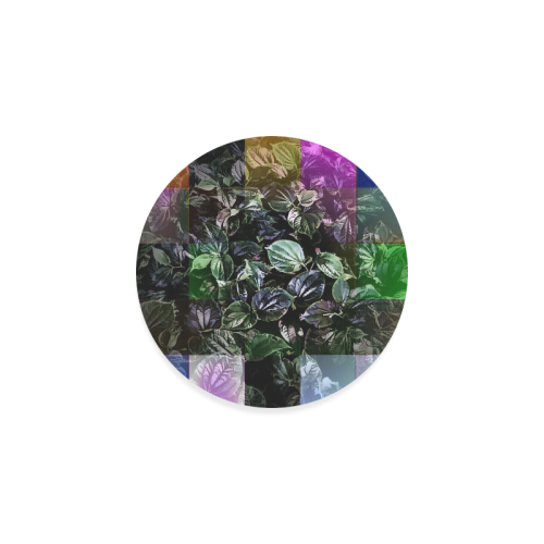 Foliage Patchwork #13 - Jera Nour Round Coaster