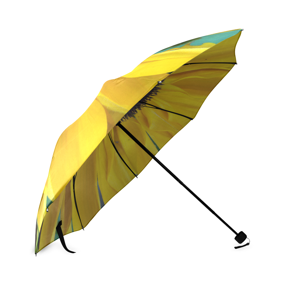 Looking Down the Black Eyed Susan Foldable Umbrella (Model U01)