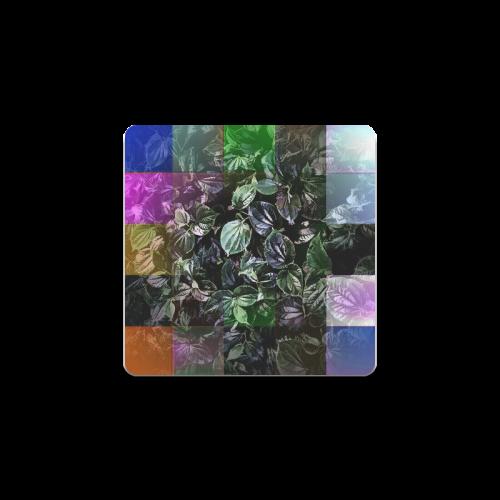 Foliage Patchwork #13 - Jera Nour Square Coaster