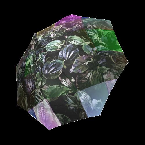 Foliage Patchwork #13 - Jera Nour Foldable Umbrella (Model U01)