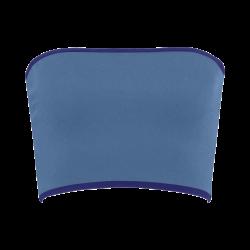 Bright Cobalt Color Accent Bandeau Top