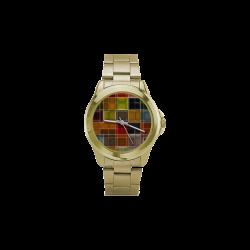 TechTile #2 - Jera Nour Vegas Gold Custom Gilt Watch(Model 101)