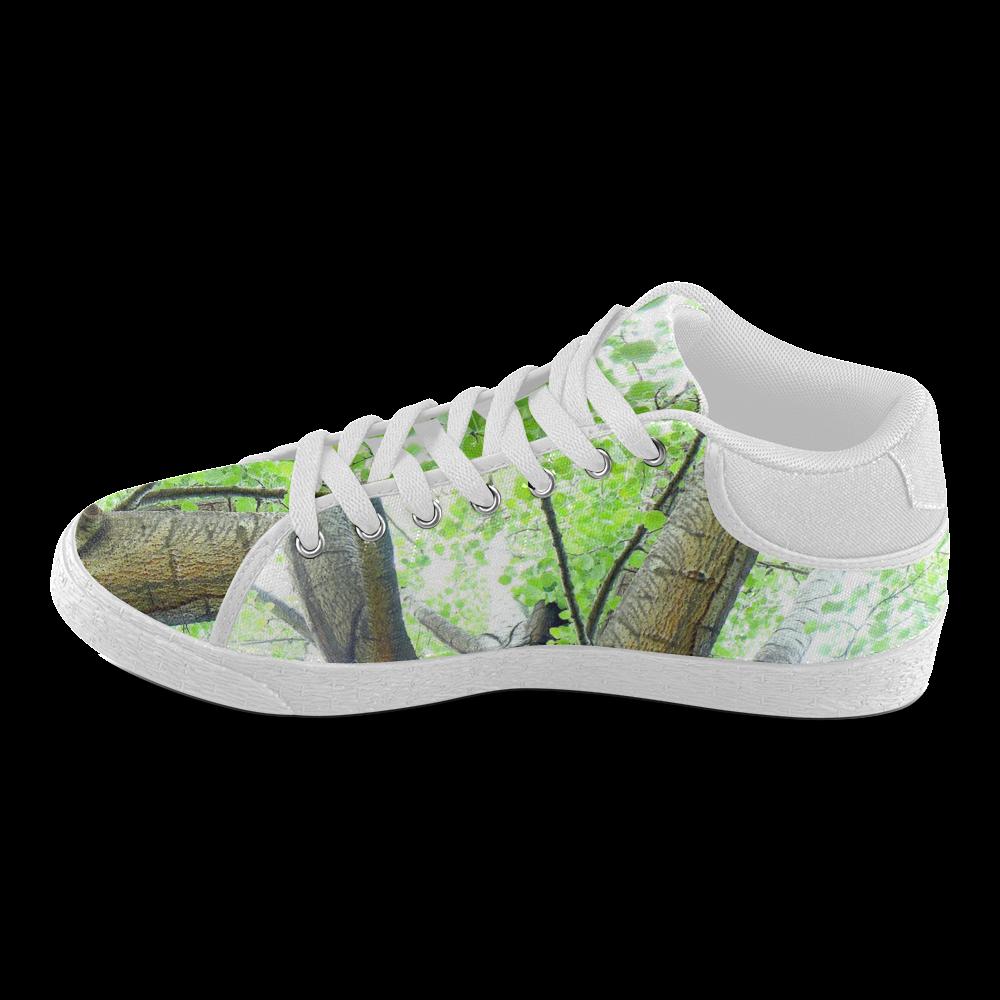 Tree Women's Chukka Canvas Shoes (Model 003)