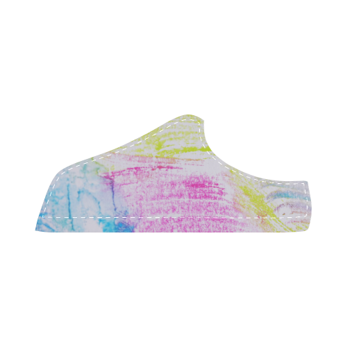 Colorful Women's Chukka Canvas Shoes (Model 003)