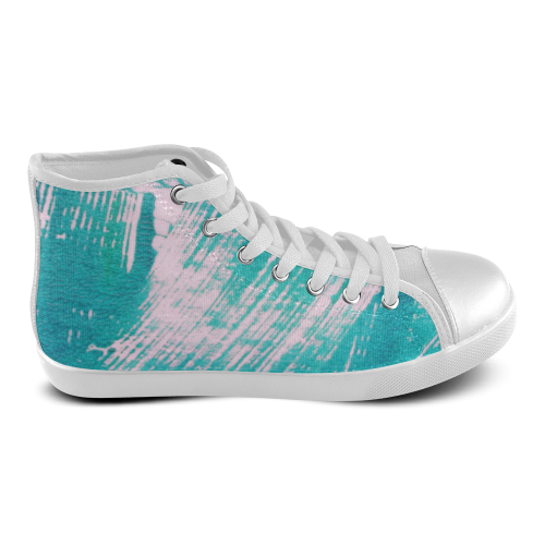 Acqua Women's High Top Canvas Shoes (Model 002)