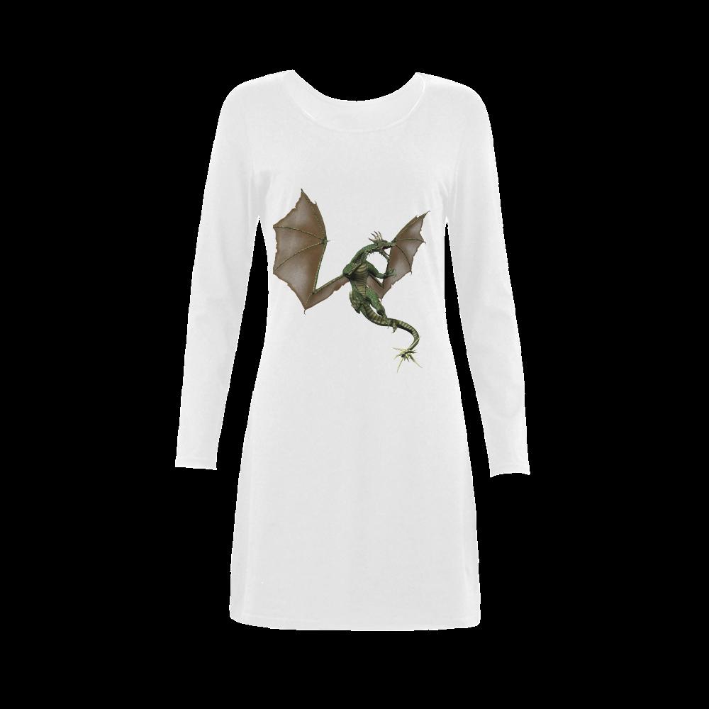 Dragon Demeter Long Sleeve Nightdress (Model D03)