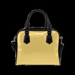 Lemon Drop Color Accent Shoulder Handbag (Model 1634)