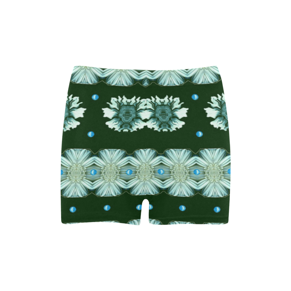 Floral and flowers in harmony Briseis Skinny Shorts (Model L04)