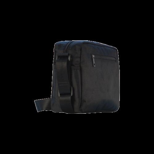 Abstract Wavy Rainbow Lines Classic Cross-body Nylon Bags (Model 1632)