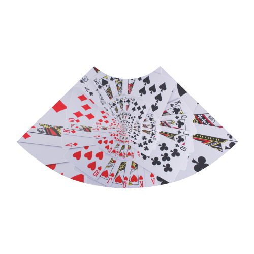 Casino Poker Royal Flush Spiral Droste Atalanta Sundress (Model D04)