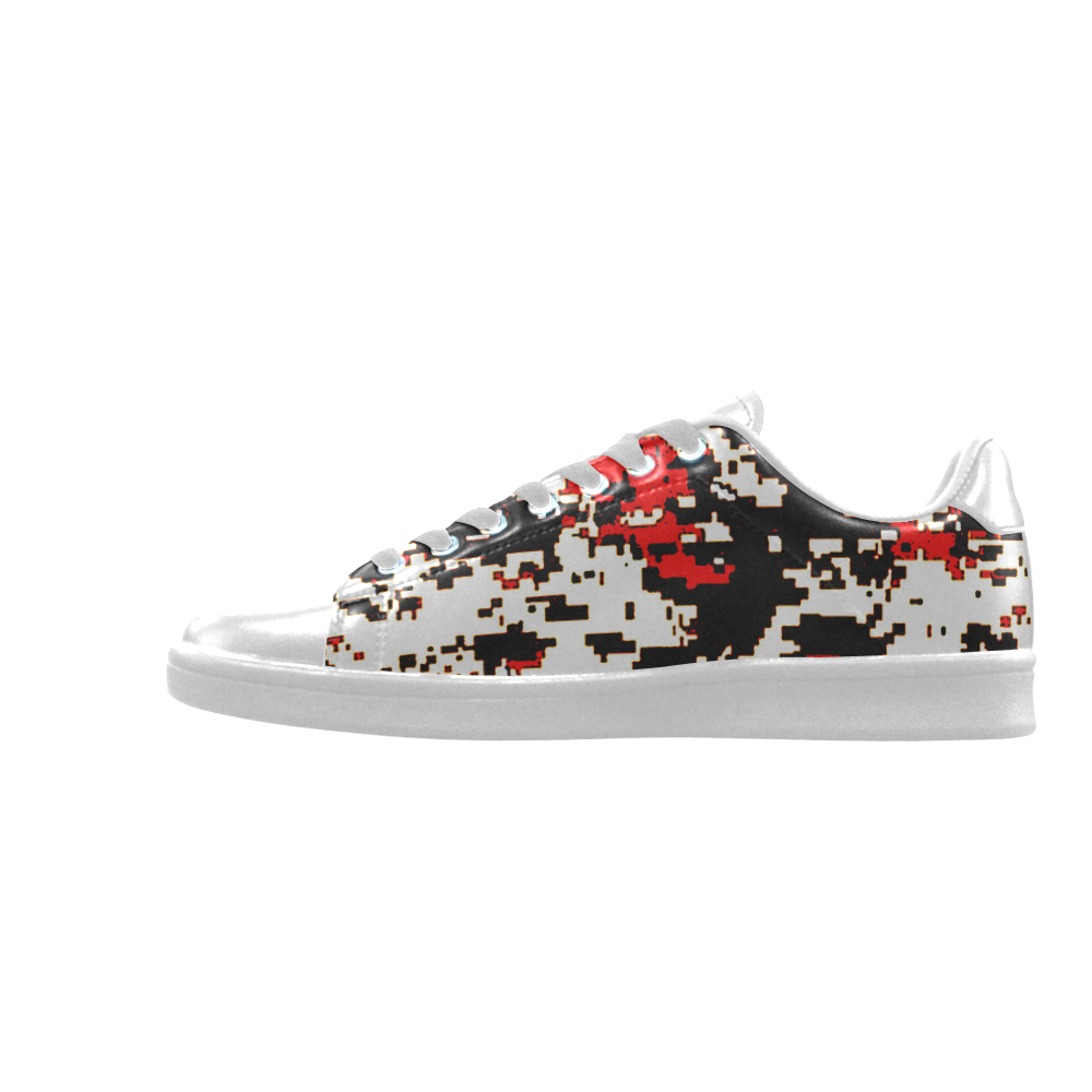 Camo Scorpius Low Top Men's Sneakers (Model 023)