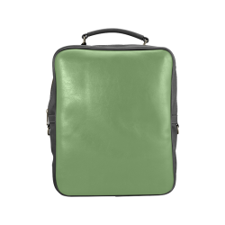 Green Tea Color Accent Square Backpack (Model 1618)