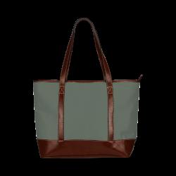 Duffel Bag Color Accent Tote Handbag (Model 1642)