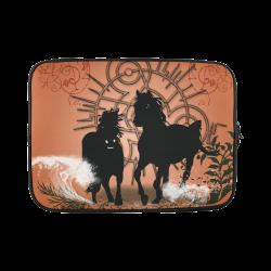 Black horses Custom Laptop Sleeve 15''