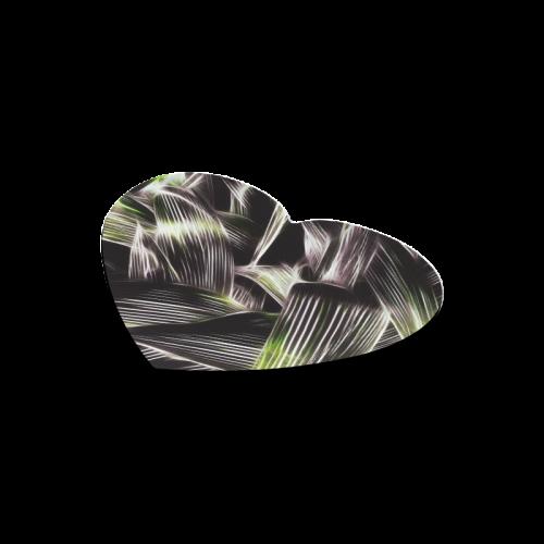 Foliage #8 - Jera Nour Heart-shaped Mousepad