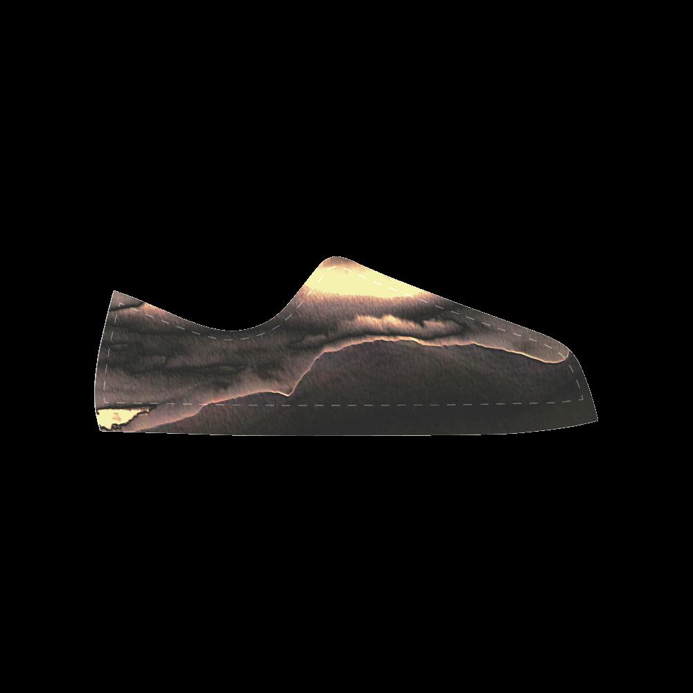 Blazing Portal - Jera Nour Aquila Microfiber Leather Men's Shoes (Model 028)