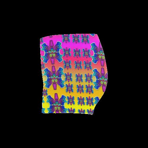 Power Flower Butterflys into paradise Briseis Skinny Shorts (Model L04)