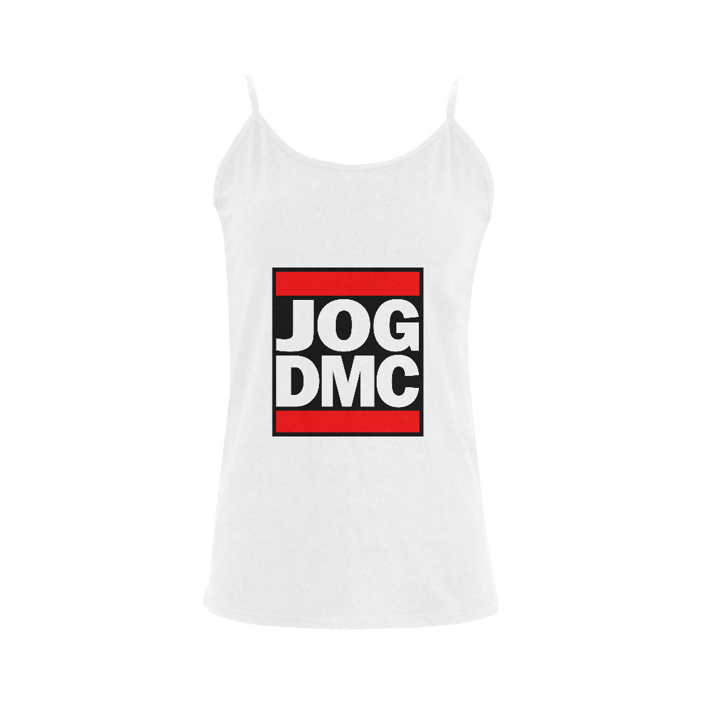 Funny Parody JOG DMC Women's Spaghetti Top (USA Size) (Model T34)