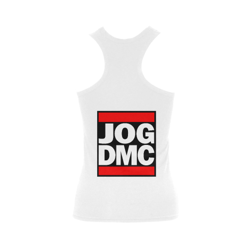 Funny Parody JOG DMC Women's Shoulder-Free Tank Top (Model T35)