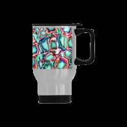 Blast-o-Blob #4 - Jera Nour Travel Mug (Silver) (14 Oz)