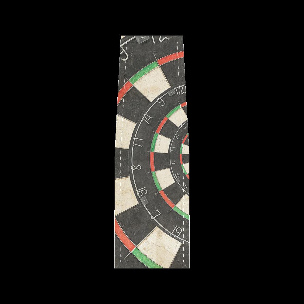 Dart Board Spiral Droste Saddle Bag/Large (Model 1649)