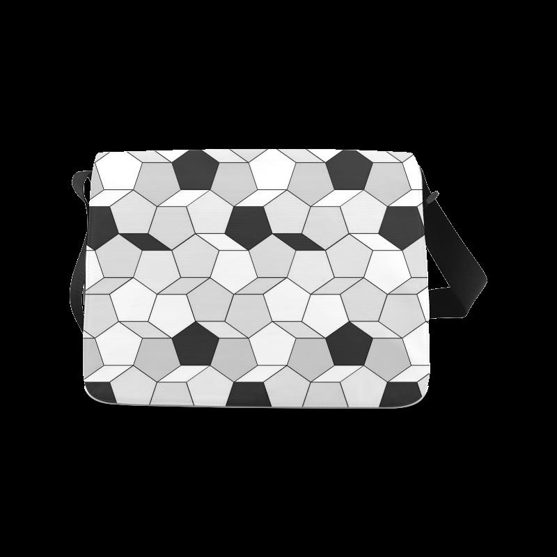 friendly summer pattern 07 Messenger Bag (Model 1628)