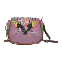 Toucan Saddle Bag/Small (Model 1649) Full Customization