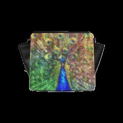 peacock Satchel Bag (Model 1635)