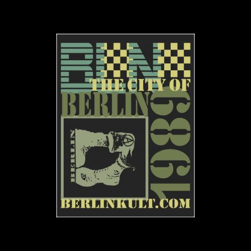 "Berlin 1989 Poster 18""x24"""