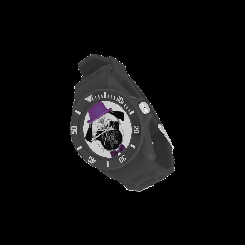 DOG PUPPY Sport Rubber Strap Watch(Model 301)