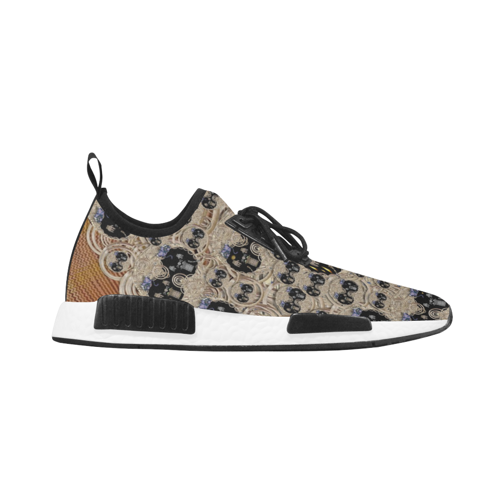 big cats and kittens in the night Men's Draco Running Shoes (Model 025)