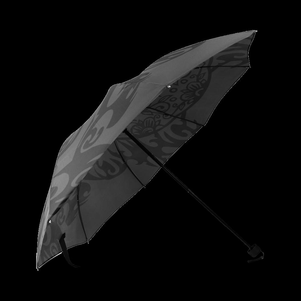 SKULL FILIGRAN Foldable Umbrella (Model U01)