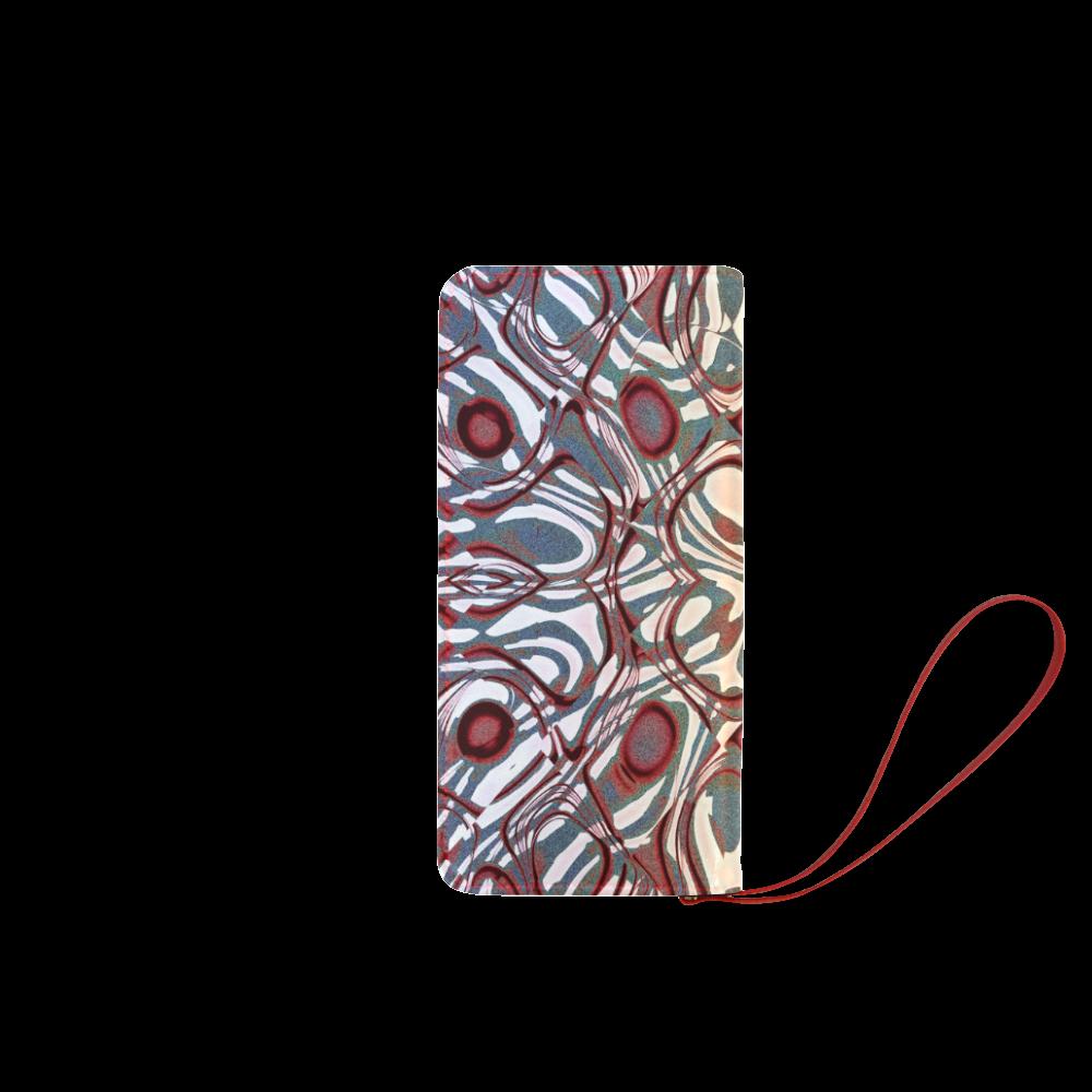 Blast-o-Blob #6 - Jera Nour Women's Clutch Wallet (Model 1637)