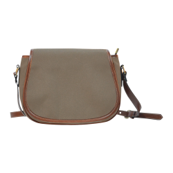 Sepia Color Accent Saddle Bag/Large (Model 1649)