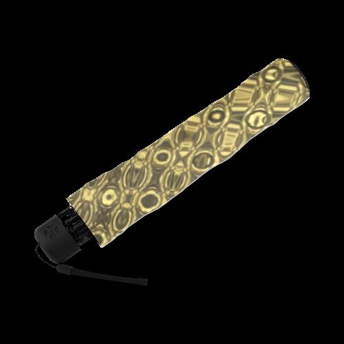 GOLD TEXTURE Foldable Umbrella (Model U01)