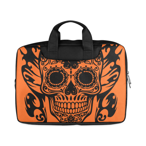 "SKULL TRIBAL ORANGE Macbook Air 15""(Two sides)"