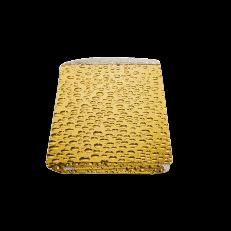 "Close Up Beer Glass Novelty Blanket 58""x80"""