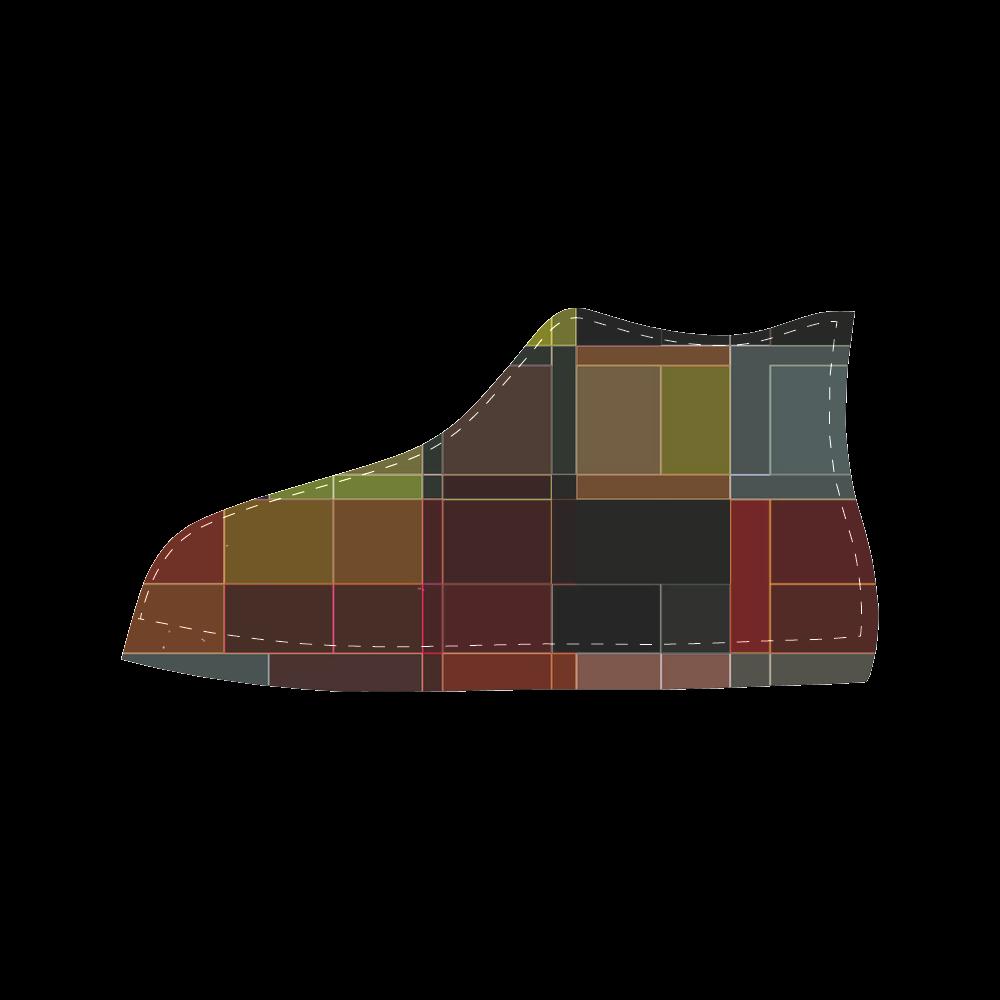 TechTile #3 - Jera Nour Aquila High Top Microfiber Leather Women's Shoes (Model 027)