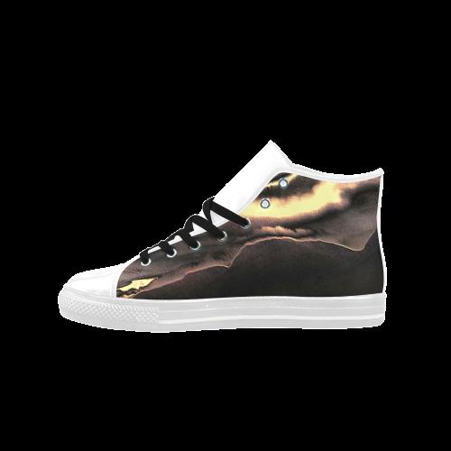 Blazing Portal - Jera Nour Aquila High Top Microfiber Leather Women's Shoes (Model 027)