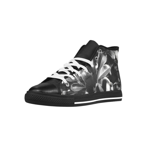 Foliage #1 - Jera Nour Aquila High Top Microfiber Leather Women's Shoes (Model 027)