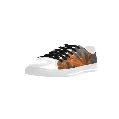 Foliage Patchwork #9 - Jera Nour Aquila Microfiber Leather Women's Shoes (Model 028)